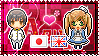 APH: Japan x Fem!England Stamp by xioccolate