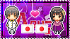 APH: Japan x Fem!Japan Stamp by xioccolate