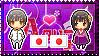 APH: Japan x Fem!Japan Stamp by Cioccoreto
