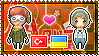 APH: Turkey x Ukraine Stamp by xioccolate