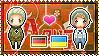 APH: Germany x Ukraine Stamp by StampillaDiChocolat
