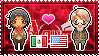 APH: OC!Mexico x America Stamp by StampillaDiChocolat