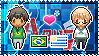 APH: OC!Brazil x OC!Uruguay Stamp by xioccolate
