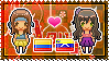 APH: OC!Colombia x OC!Venezuela Stamp by StampillaDiChocolat