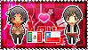 APH: OC!Mexico x OC!Chile Stamp by xioccolate