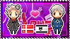 APH: Denmark x Prussia Stamp by xioccolate