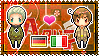 APH: Germany x South Italy Stamp by xioccolate