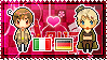 APH: South Italy x Fem!Germany Stamp by StampillaDiChocolat