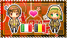 APH: South Italy x Belgium Stamp by xioccolate
