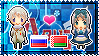 APH: Russia x Belarus Stamp by xioccolate