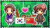 APH: South Korea x Fem!China Stamp by Cioccoreto