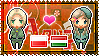 APH: Poland x Hungary Stamp by xioccolate
