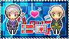 APH: Norway x England Stamp by xioccolate