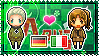 APH: Germany x Fem!North Italy Stamp by xioccolate