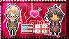 APH: America x OC!Georgia Stamp by Cioccoreto