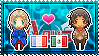 APH: OC!Mexico x France Stamp by xioccolate