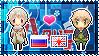 APH: Russia x England Stamp by xioccolate