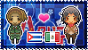 APH: Cuba x OC!Mexico Stamp by xioccolate