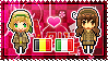 APH: Belgium x Fem!South Italy Stamp by xioccolate