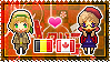 APH: Belgium x Fem!Canada Stamp by xioccolate