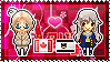 APH: Canada x Fem!Prussia Stamp by StampillaDiChocolat