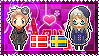 APH: Denmark x Fem!Sweden Stamp by xioccolate