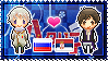 APH: Russia x OC!Serbia Stamp by xioccolate