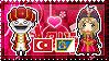 APH: Ottoman!Turkey x Cossack!Ukraine Stamp by xioccolate