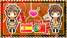 APH: Spain x Portugal Stamp by xioccolate