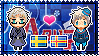 APH: Sweden x OC!Aland Islands Stamp by StampillaDiChocolat