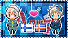 APH: Finland x OC!Aland Islands Stamp by StampillaDiChocolat