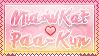 Miaowkat x paa-kun Stamp by Cioccoreto