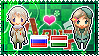 APH: Russia x Hungary Stamp by xioccolate