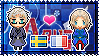APH: Sweden x France Stamp by xioccolate