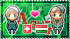 APH: Switzerland x Hungary Stamp by xioccolate