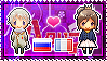 APH: Russia x Fem!France Stamp by xioccolate