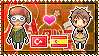 APH: Turkey x Spain Stamp by xioccolate