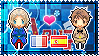 APH: France x Spain Stamp by xioccolate