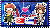 APH: Turkey x Greece Stamp by xioccolate