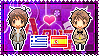APH: Greece x Spain Stamp by xioccolate