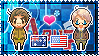 APH: Australia x America Stamp by StampillaDiChocolat