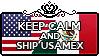 Keep Calm and Ship UsaMex by Cioccoreto