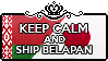 Keep Calm and Ship BelaPan by Cioccoreto