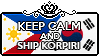 Keep Calm and Ship KorPiri by StampillaDiChocolat