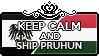 Keep Calm and Ship PruHun by StampillaDiChocolat