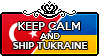 Keep Calm and Ship Turkraine by Cioccoreto