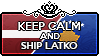Keep Calm and Ship LatKo by StampillaDiChocolat