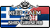 Keep Calm and Ship GiriSerb by StampillaDiChocolat