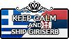 Keep Calm and Ship GiriSerb by StampillaDiChocolat