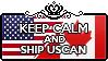 Keep Calm and Ship USCan by Cioccoreto